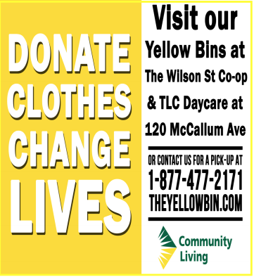 Donate clothes in Birch Hills